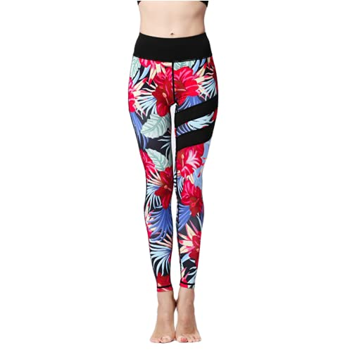 QTJY Pantalones de Yoga para Nalgas de Cintura Alta para Mujer, Push-ups, Pantalones de chándal para Gimnasio elásticos para Abdomen L L
