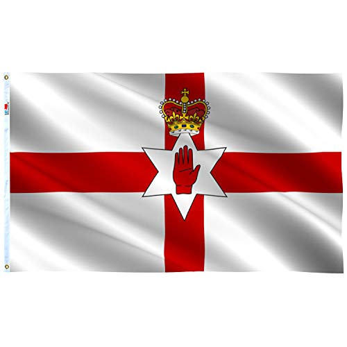 Celtic Cross Red 3/' X 2/' 3ft x 2ft Flag With Eyelets Premium Quality