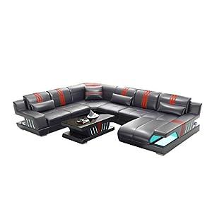 Winpavo Sofá Conjunto De Sofás Sofá De La Esquina Sofá Modular Nuevo Sofá De Diseño Sofá De Esquina Sofá En Forma De U-Re
