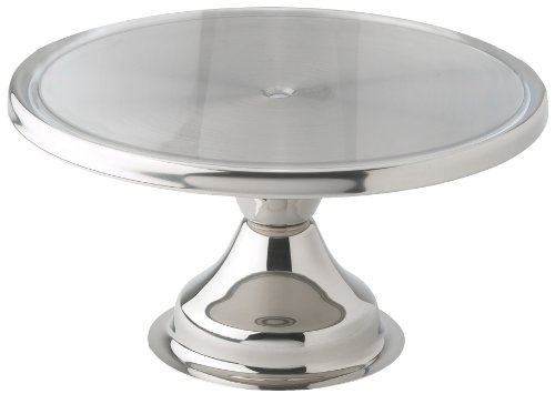 Our #5 Pick is the Winco Stainless Steel Round Cake Display Stand