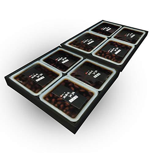 黒豆 国産 丹波 煎り 甘露煮 丹波黒豆 特選京の黒豆甘露煮 無選別 120g【計8個】4個×2ケース