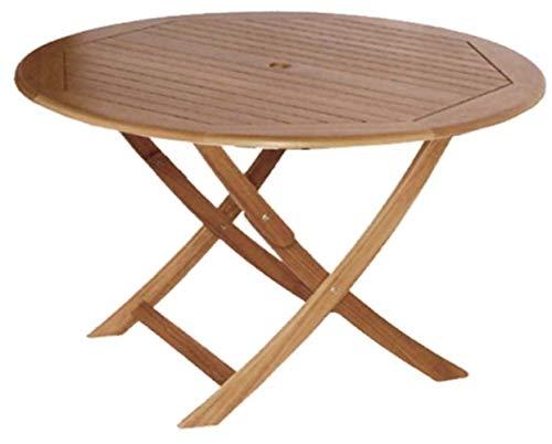 Charles Bentley FSC Eucalyptus carré en bois pliable Side Table