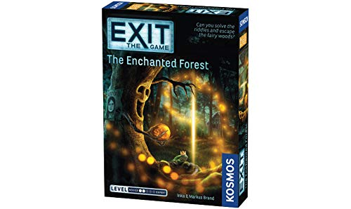 Thames & Kosmos|EXIT - The Game | The Enchanted Forest | Level: 2| Unique Escape Room Game, 1-4 Players | Ages 10+ |