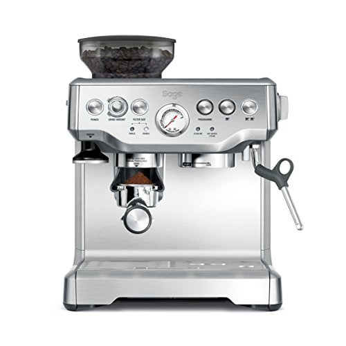 Sage BES875UK The Barista Express with Temp Control Milk Jug, Brushed Stainless Steel small image