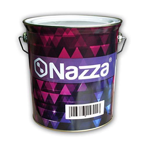 Esmalte Sintético Nazza con Poliuretano - Uso interior y exterior - Rápido secado - COLOR ROJO INGLÉS BRILLANTE - 4 Litros