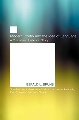Modern Poetry and the Idea of Language (American Literature (Dalkey Archive))