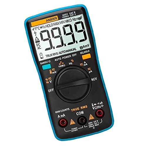 fregthf ANENG AN8009 Multímetro Digital Función de Voltaje automotriz Herramienta de medición del Metro electrónico