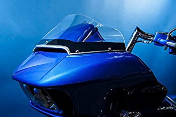 Dragonfly Cycle Concepts 12040-17 Flip Out Windshield - 4in - Clear