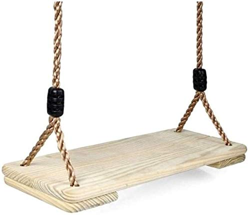 N\A For Adults and Children Wooden for Children with Rope Toys Outdoor Garden Suitable for Indoor Outdoor (Color : -, Size : -)
