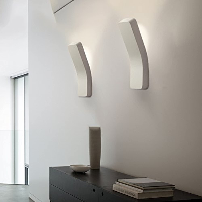 XDD Moderne Box Wandleuchte, Power Wandleuchte, Schlafzimmer Nachttisch Flur Persnlichkeit kreative Biege Lampe