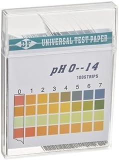 comprar comparacion Tiras de Prueba de pH en el Agua de Rango Amplio 0-14 - Tiras de Prueba de Ácido Alcalino de Almohadilla Doble de Rango Al...