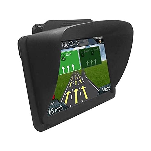 Capucha de navegación Universal, GPS Cubierta De Sombrilla para 6-7 Pulgadas, Cubierta De Parasol para GPS, Funda Portátil para GPS En El Coche