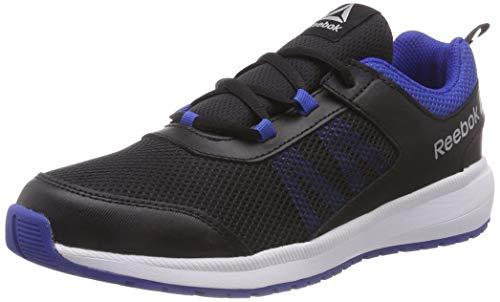 Reebok Road Supreme, Zapatillas de Running Unisex Niños, Negro (Black/Vital Blue/White Black/Vital Blue/White), 34.5 EU