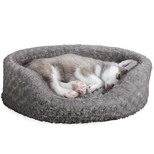 Oval Dog Bed for Large Dogs