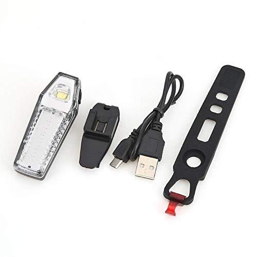 WIDF USB wiederaufladbares COB LED Fahrrad Rücklicht Dual Color 7 Modi IP44 Wasserdicht Fahrrad Rücklicht Sicherheit Warnleuchte Zubehör