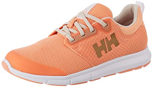 Helly Hansen W Feathering, Scarpe da Barca Donna, Arancione (Melon/White/Shell 071), 42 EU