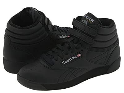 Reebok Lifestyle Freestyle Hi (Black) Women
