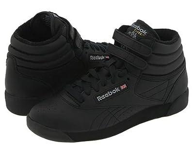 Reebok Lifestyle Freestyle Hi High Top (Black) Women