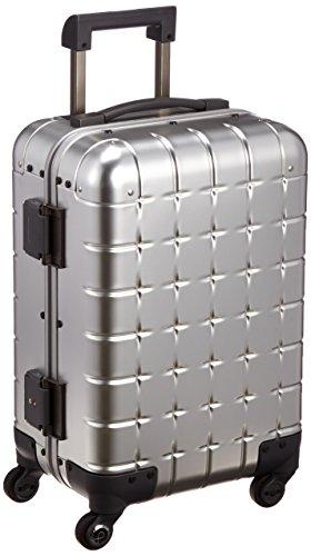 [プロテカ] 日本製アルミニウムスーツケース 360(サンロクマル)アルミニウム 36L 3年保証付き 機内持込可 ...