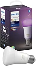 Philips Hue E27 White and Color Ambiance LED Smart Bulb, Bluetooth & Zigbee Compatible (Hue Hub Optional), Works with Alex...