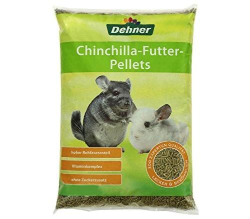 Dehner - Mangime per roditori, Pellet Chinchilla, 5 kg