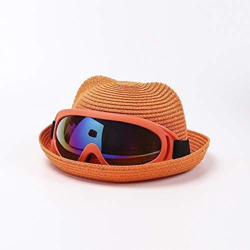 wopiaol Sombreros para nios, Sombreros de Verano nuevos para bebs, Gafas, una Gorra, excursin, Sombreros de Pescador, Sombreros de proteccin Solar para la Playa, Marea