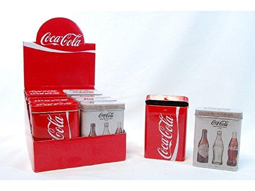 Boîtes cigarettes métal Coca Cola / l'unité
