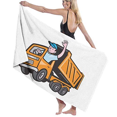 Encantador Trucker Towel Wrap Bath Womens SPA Ducha y