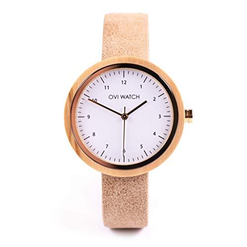 Reloj de madera Sara Carbonero