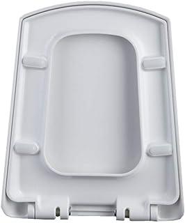 Mtg Abattant de WC avec charnières à dégagement Doux et épaisses, antibactérien, Ultra résistant, pour siège de Toilette t...