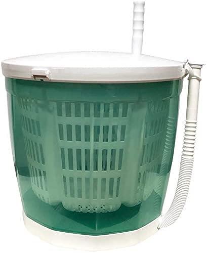 HTDHS Mini lavadora manual portátil manual manual no eléctrica, secadora de centrifugado,...