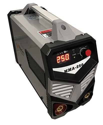 Soldador Inverter Profesional MMA-250 DC Con Tecnología IGB
