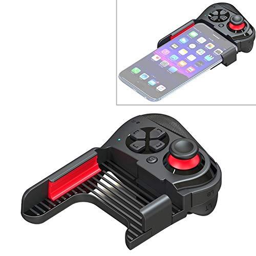 Kompaktes und leichtes Kabel Hochwertige MOCUTE-059 Bluetooth 4.0 Dual-Mode Linkshänder Bluetooth Gamepad for 6,5 bis 7,2-Zoll-Handys, unterstützt Android / IOS Direct Connection und Direct Play