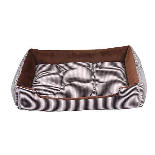 PENVEAT Große Hundehütte Weiche Hundematte Hausauflage Heimtierbedarf Hundebett Welpe Warmes Bett Plüschnest Für Small Medium, 1,45x28,5x12cm