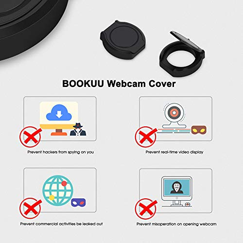 Webcam Privacy Cover, Shutter Protects Lens Cap Hood Covers with Strong Adhesive, Protecting Privacy and Security for Logitech HD Pro Webcam C920 & C930e & C922 & C922X Pro Stream Webcam