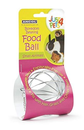 Ancol - Pelota para comida de animales pequeños
