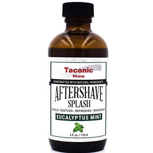 Taconic Shave S Eucalyptus Mint Aftershave Splash - Formule de refroidissement - Artisan Made In Usa
