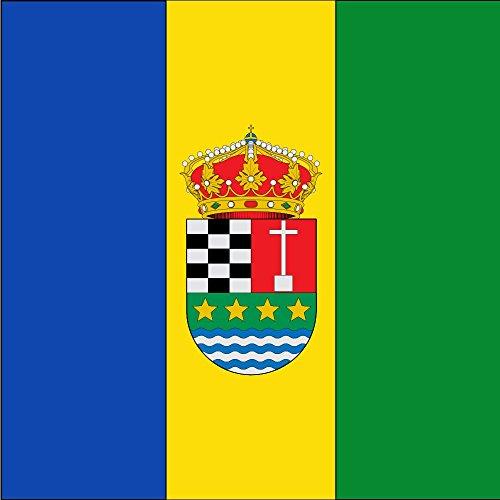 magFlags Bandera Large Cuadrada y terciada en Banda | 1.35m² | 120x120cm
