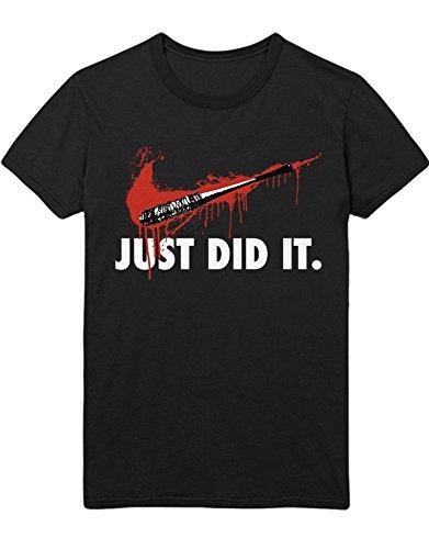 T-Shirt TWD JUST DID IT. C983066 Schwarz XXL