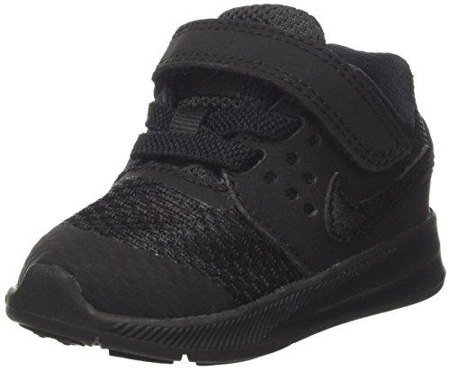Nike Unisex Baby Downshifter 7 (TDV) Hausschuhe, schwarz, 22 EU