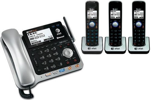 AT&T TL86109 + (2) TL86009 4 Handset Corded / Cordless (2 Line) DECT 6.0