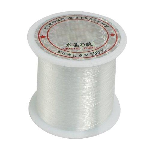 SODIAL(R) 0,2 mm Durchmesser Clear Nylon Fisch Angelschnur