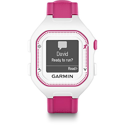 Garmin 010-N1353-21 Refurbished Forerunner 25 Running Smartwatch - White/Pink