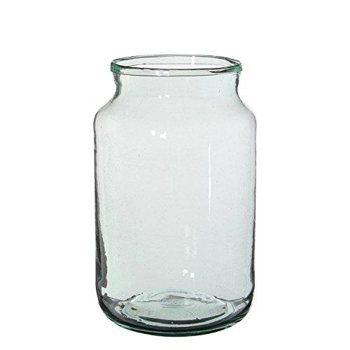 MICA Decorations Vienne Vase, Glas, transparent, H 30 cm D 18 cm