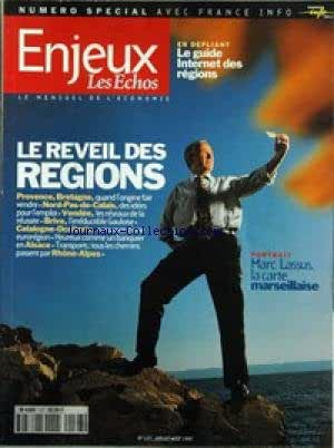 ENJEUX LES ECHOS [No 127] du 01/07/1997 - LE REVEIL DES REGIONS - MARC LASSUS - LACARTE MARSEILLAISE.
