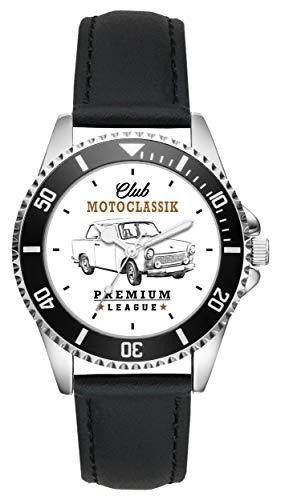 Geschenk für Trabi Trabant Oldtimer Fans Fahrer Kiesenberg Uhr L-10162