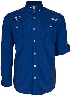 Southeastern Oklahoma State Columbia Bahama II Royal Long Sleeve Shirt 'SE Primary Logo'