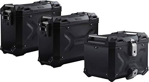 SW-Motech TRAX ADV Adventure Premium Aluminium Kofferset für BMW R 1200 GS schwarz