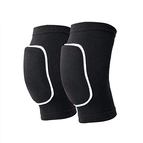 Non-Slip Knee Brace Soft Knee Pads Breathable Knee Compression Sleeve for Dance Wrestling Volleyball...