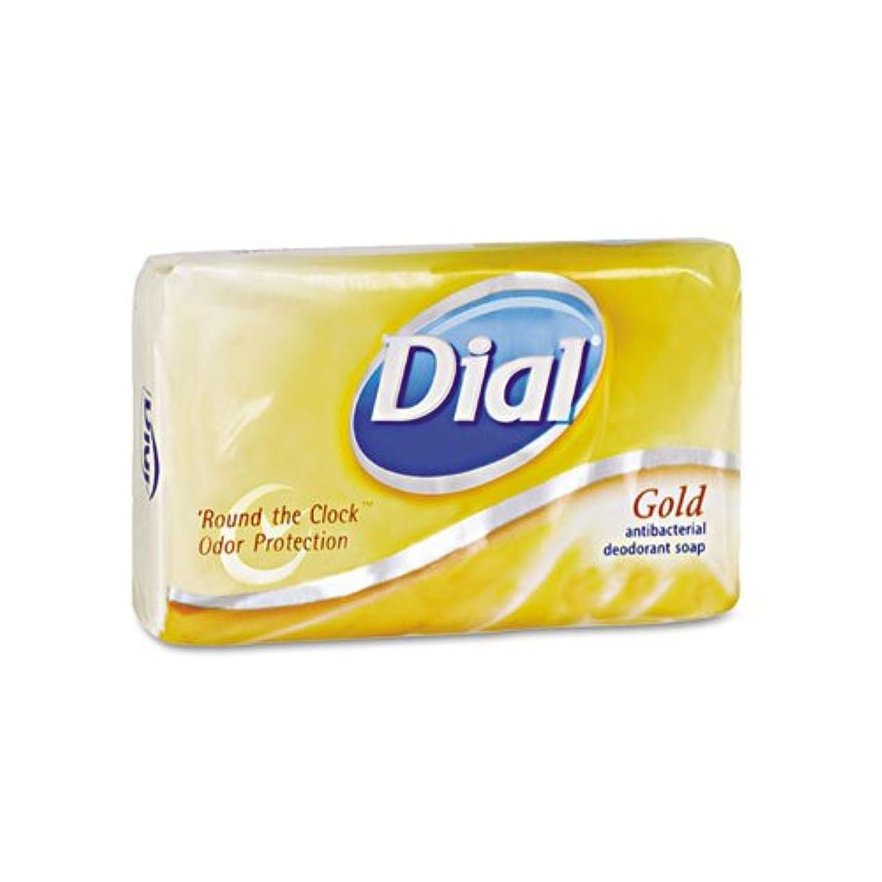 化学薬品詐欺寝るダイヤル& # xFFFD ;抗菌Deodorant Bar Soap、個別包装、ゴールド、4オンス